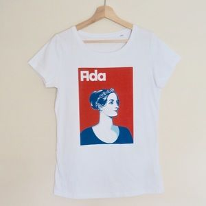 Graphic Tee Organic Cotton Ada Lovelace New